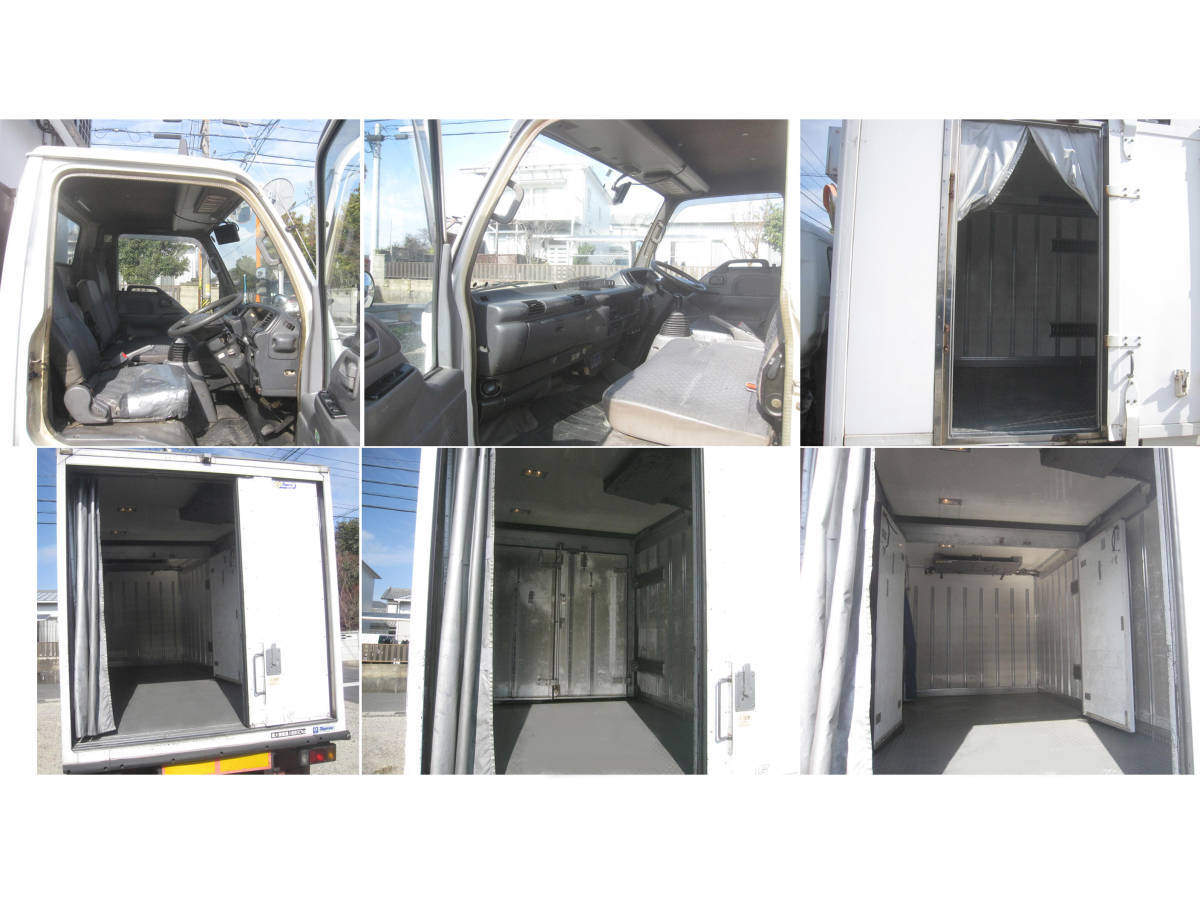 「結構大きいです 早いもの勝ち エルフトラック 冷蔵車ワイドロング? ディーゼル(軽油) NOXPM適合車  です。」の画像3