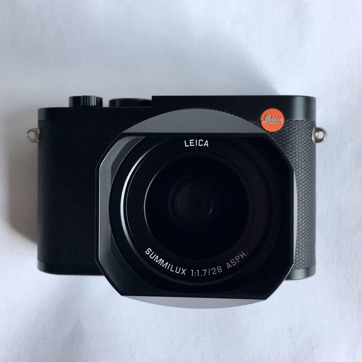 新品 ライカLeica Q2 デジタルカメラ レンズ ズミルックス f1.7/28mm ASPH. LEICA 元箱付き