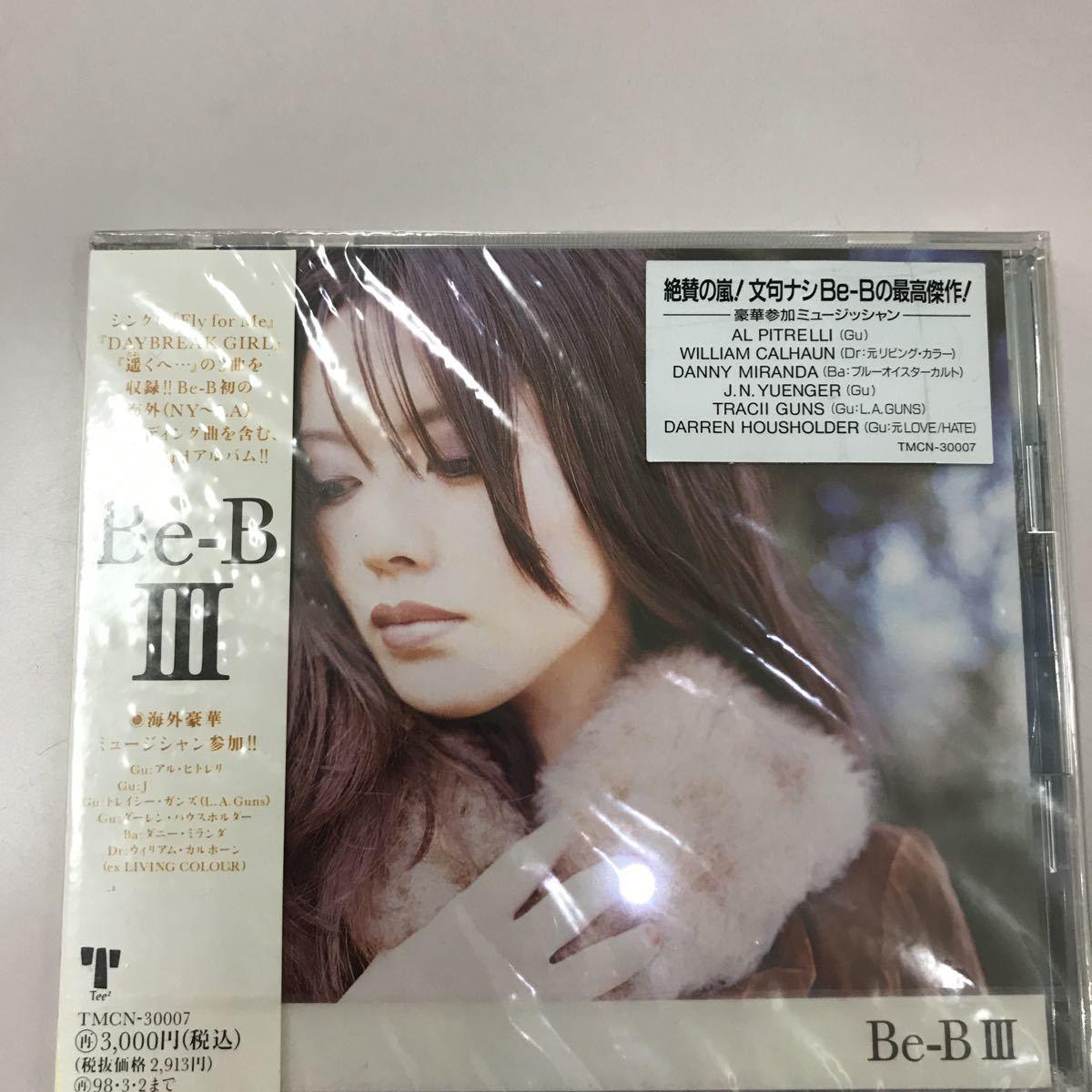 CD 新品未開封【邦楽】Be-B III
