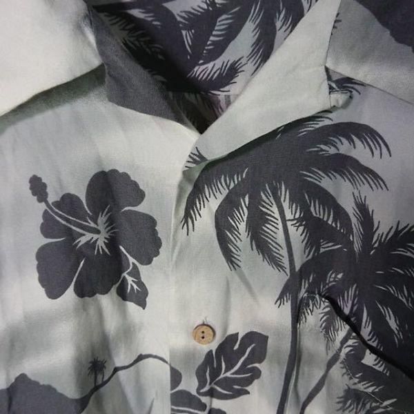 【アロハシャツ】 半袖 ハワイアンシャツ XLサイズ ゲットアーニ GET ARNIE
