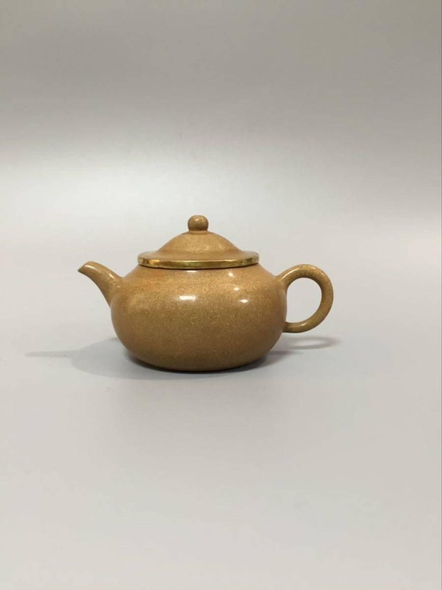 白泥 中国宜興 中国美術 水平 茶壺 急須 煎茶道具 中国唐物 紫砂 紫泥 唐物 朱泥