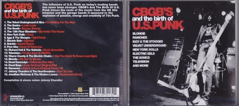 CBGB's and the birth of U.S. PUNK /EU盤/中古CD!! 商品管理番号:43427_画像2