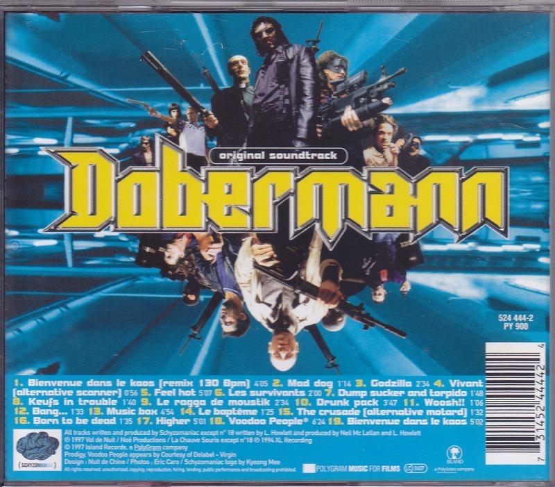 ドーベルマン Dobermann -Original Soundtrack/EU盤/中古CD!! 商品管理番号:43279_画像2