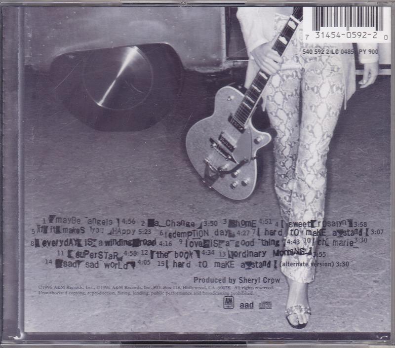 シェリル・クロウ SHERYL CROW /EU盤/中古CD!! 商品管理番号:43412_画像2