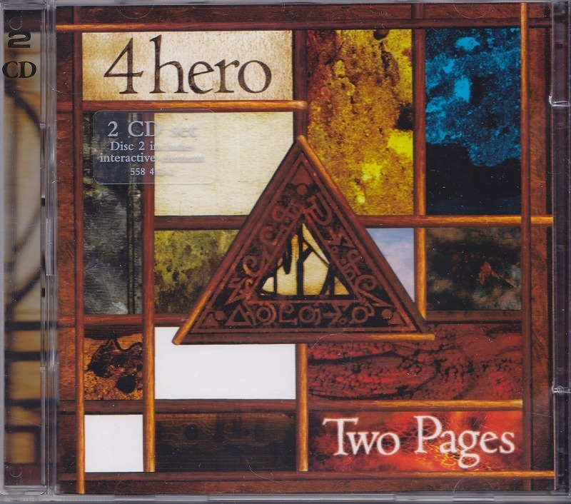4 Hero - Two Pages /EU盤/中古2CD!! 商品管理番号:43078_画像1