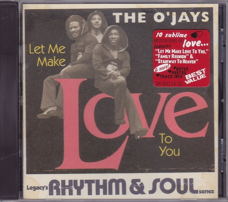 オージェイズ The O'Jays - Let Me Make Love To You /US盤/中古CD!! 商品管理番号:43334_画像1