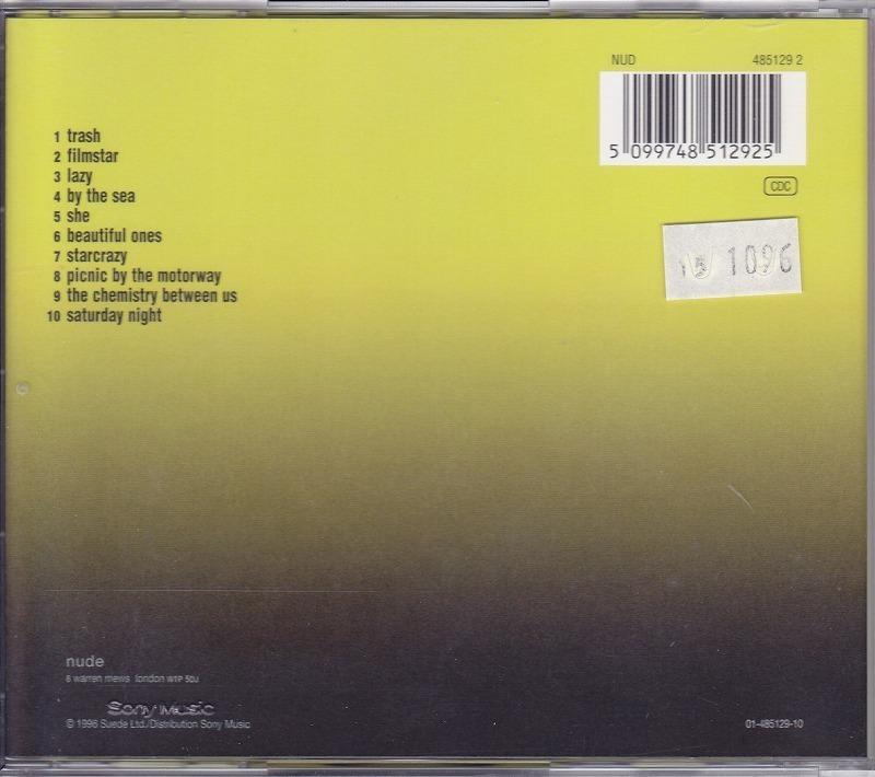 スウェード Suede - Coming Up /EU盤/中古CD!! 商品管理番号:43287_画像2