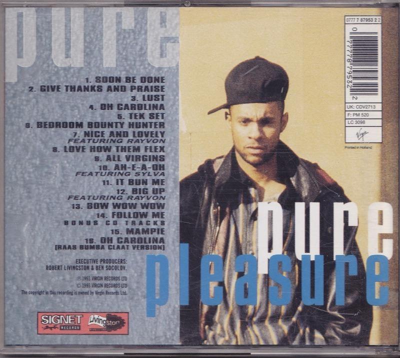 シャギー Shaggy - Pure Pleasure /EU盤/中古CD!! 商品管理番号:43073_画像2