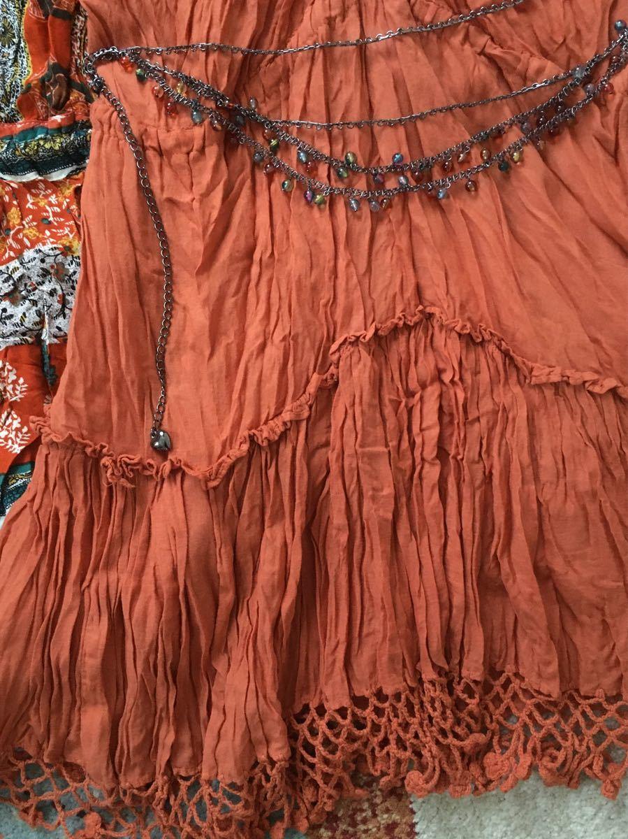 まとめ売りワンピースチュニックアジアン系民族ボヘミアン柄春夏フリーズマート