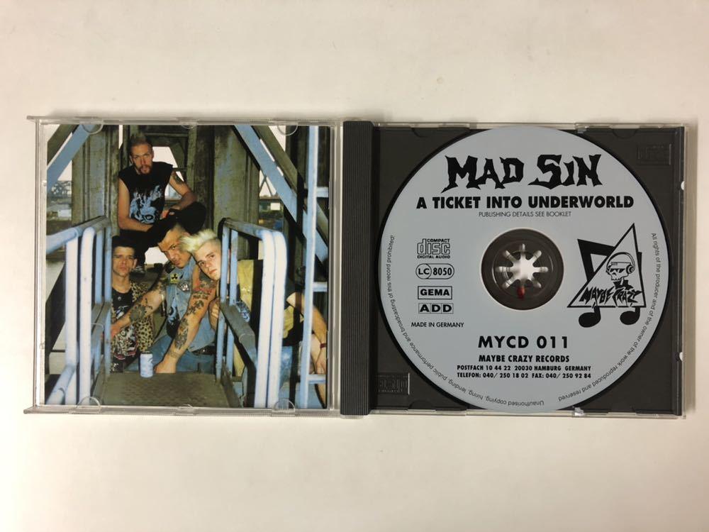 MAD SIN / A TICKET INTO UNDERWORLD 検) tm_画像2