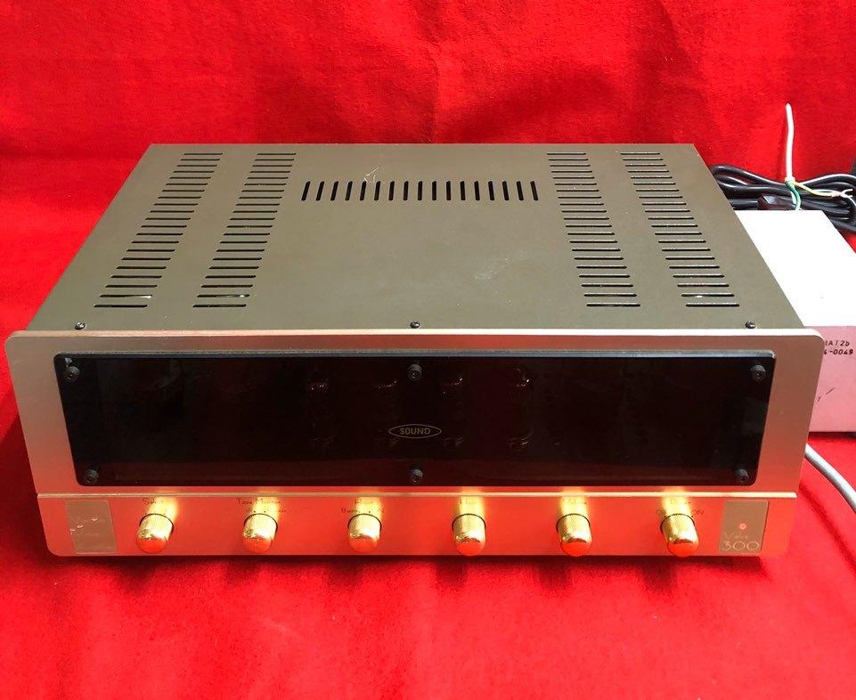 東京サウンド Valve300 真空管プリメインアンプ オーディオ機器 音響機器 NMAT2b 3104-0049