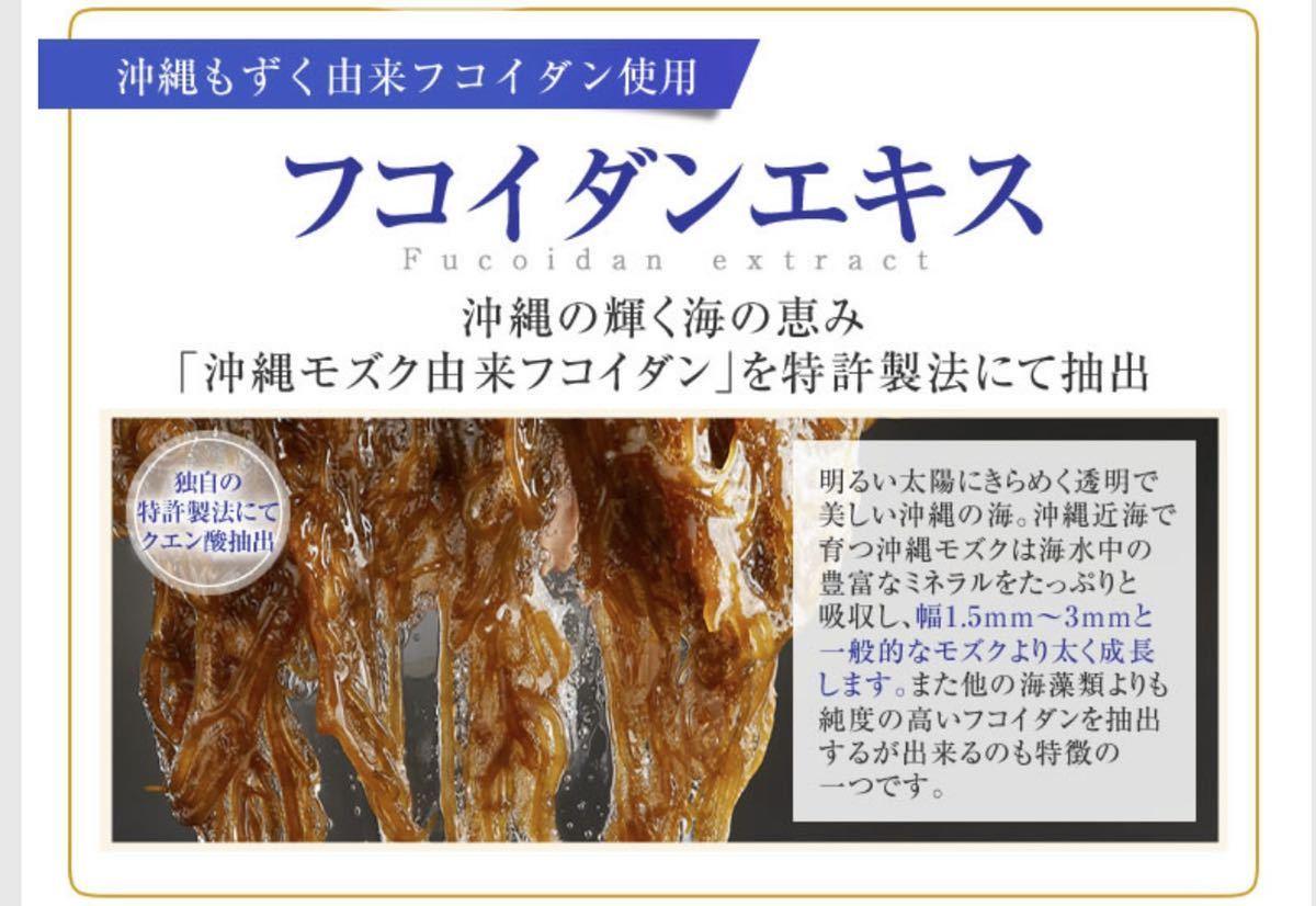 ナノフコイダンエキス顆粒 フコイダン NANO モズク 沖縄県産 テクノロジー_画像2