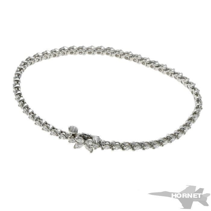 Tiffany&Co. ティファニー ビクトリア ダイヤ ブレスレット プラチナ PT950_画像1