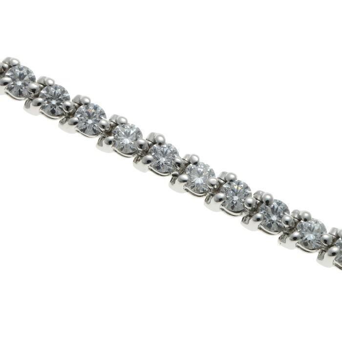 Tiffany&Co. ティファニー ビクトリア ダイヤ ブレスレット プラチナ PT950_画像5