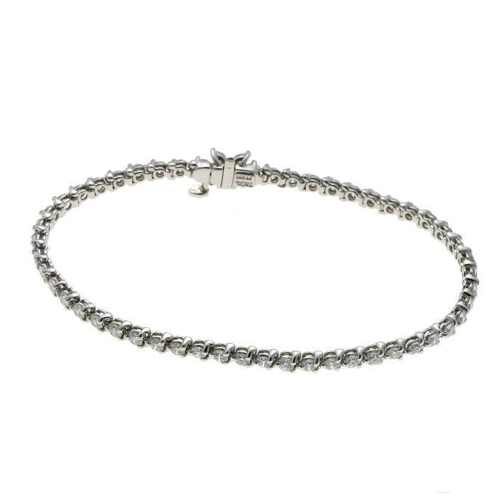 Tiffany&Co. ティファニー ビクトリア ダイヤ ブレスレット プラチナ PT950_画像3