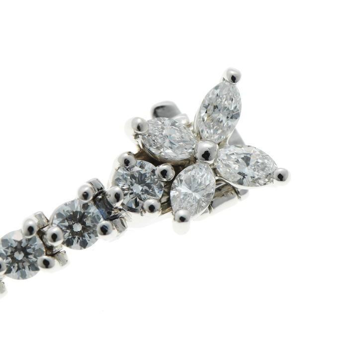 Tiffany&Co. ティファニー ビクトリア ダイヤ ブレスレット プラチナ PT950_画像6
