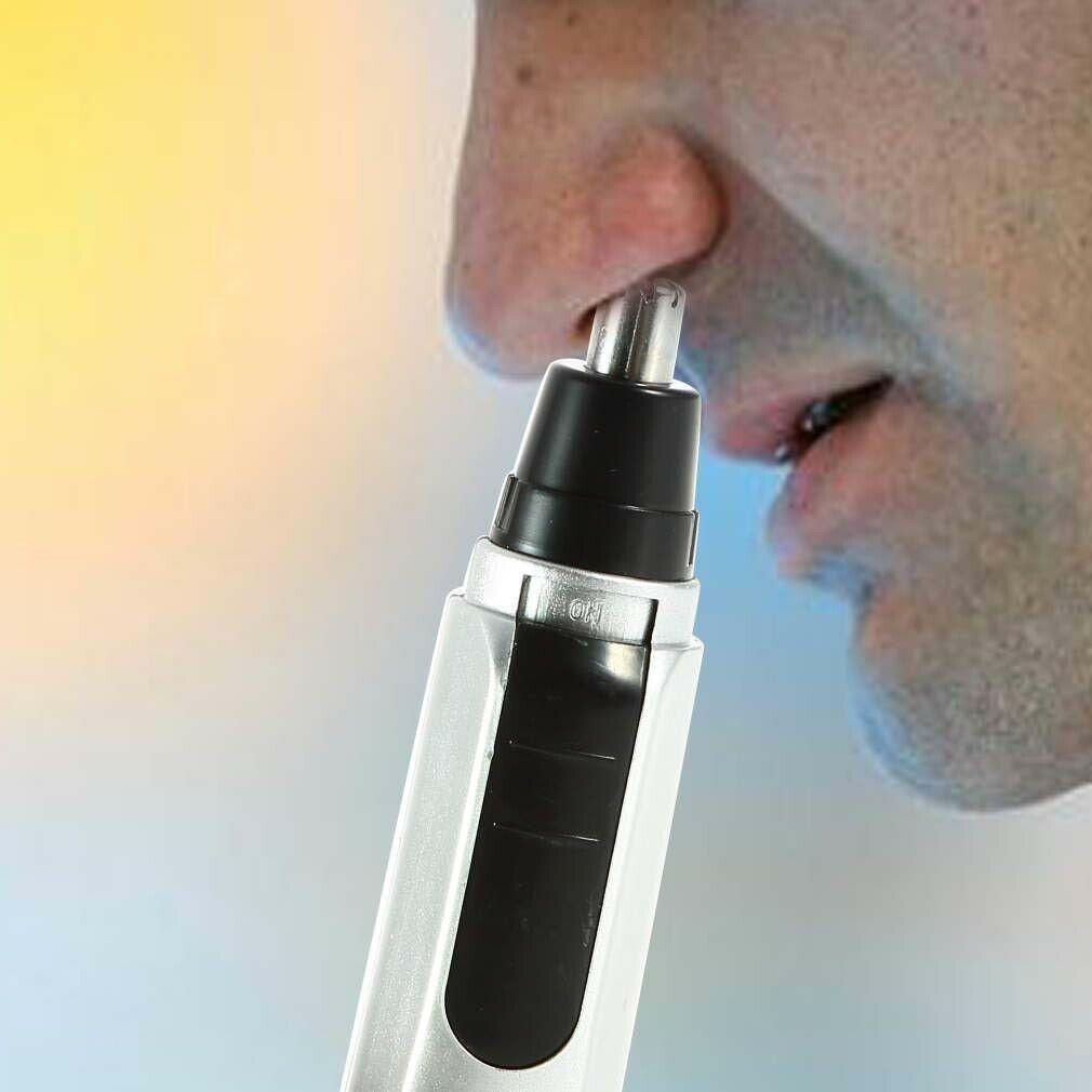 鼻毛カッター 電気シェーバー マルチトリマー 洗える 耳毛の処理にも ブラシ付