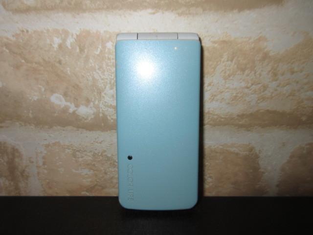 ★SoftBank 103P ブルー 中古 携帯電話 ジャンク 判定〇★_画像1