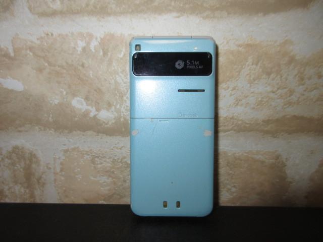 ★SoftBank 103P ブルー 中古 携帯電話 ジャンク 判定〇★_画像2