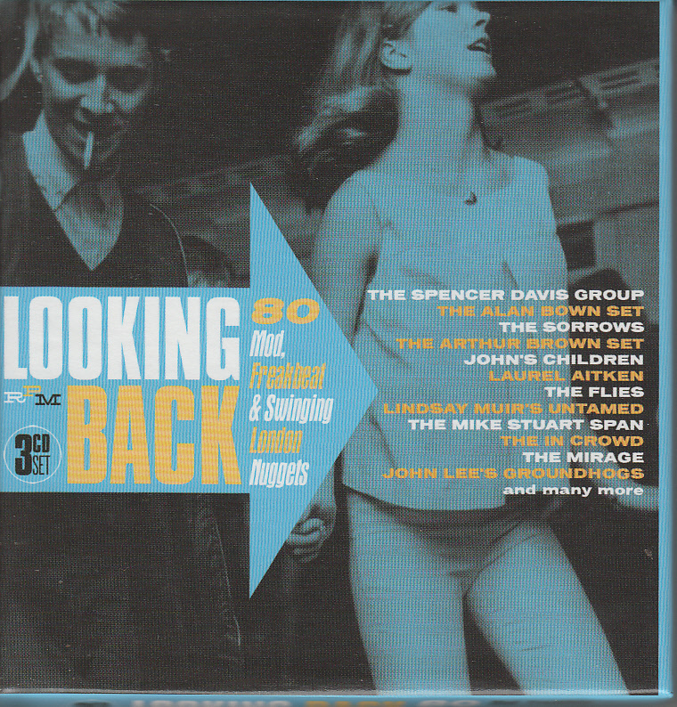♪V.A/LOOKING BACK-80 MOD, FREAKBEAT&SWINGING LONDON NUGGETS-3枚組輸入盤ブルー・アイド・ソウル/ソフト・ロック~ポップ・サイケ_画像1
