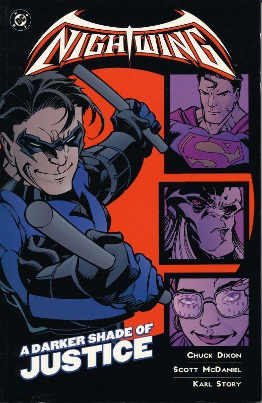 アメコミ・ナイトウィング NIGHTWING: A Darker Shade of Justice DC Comics_画像1