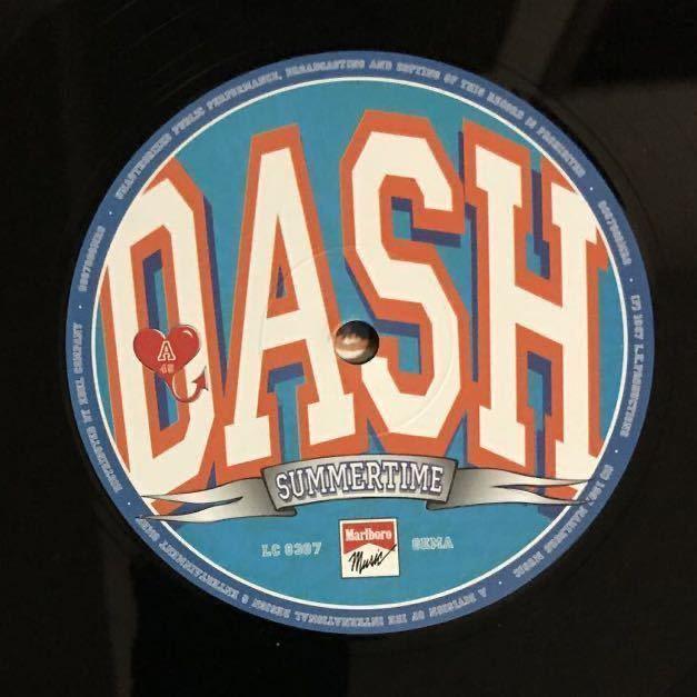 ●【eu-rap】dash / summertime [12inch]オリジナル盤《O-145》