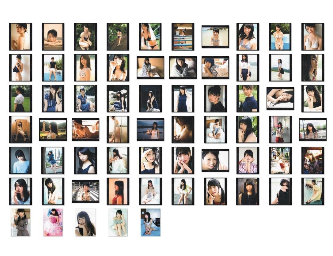 欅坂46 長濱ねる 厳選セクシー生写真 65枚セット(L版60枚+2L版5枚)_画像1