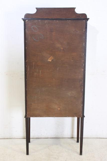 ショーケース アンティーク家具 ce-17 1910年代 イギリス製 アンティーク マホガニー エドワーディアン スモール ガラスキャビネット_画像10