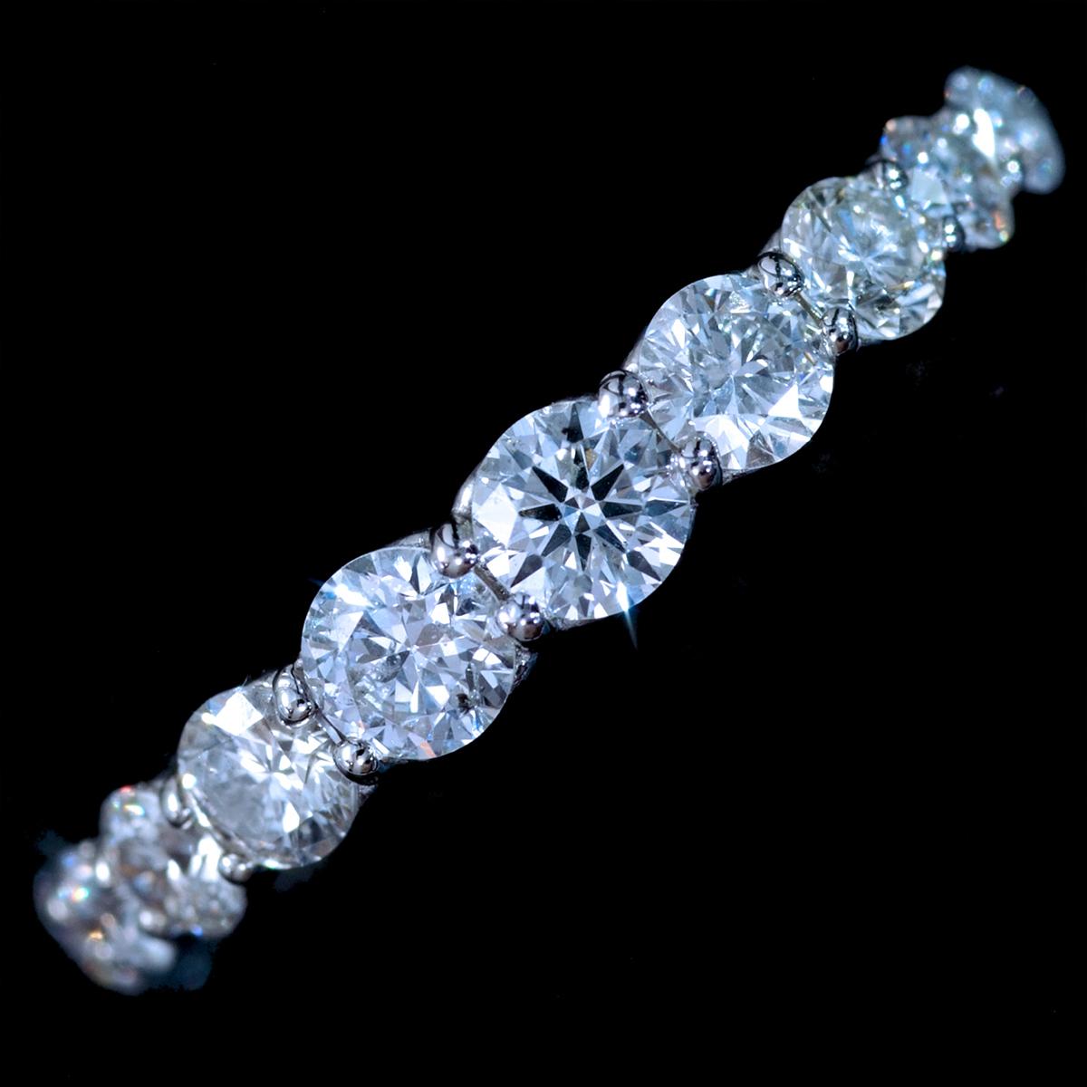*R3558 新品!業者向け令和新作Design! 天然大粒上質ダイヤモンド1.00ct 最高級Pt900無垢リング サイズ12號 重量3.0g 縦幅3.4mm
