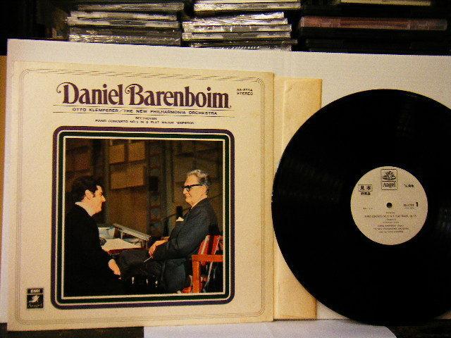 ▲LP ダニエル・バレンボイム(ピアノ) DANIEL BARENBOIM / ベートーヴェン:ピアノ協奏曲 第五番 変ホ長調 皇帝 国内盤◇r2405_画像1