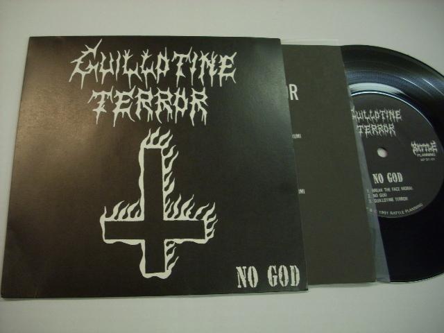 [EP] GUILLOTINE TERROR/NO GOD ギロチンテラー ◇r20415_画像1