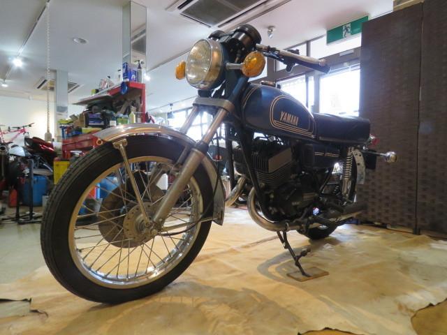 「□ 超希少 YAMAHA ヤマハ RD250 2st 青 250cc 19817km ビンテージ 実動! 1975 2スト バイク 札幌発」の画像3