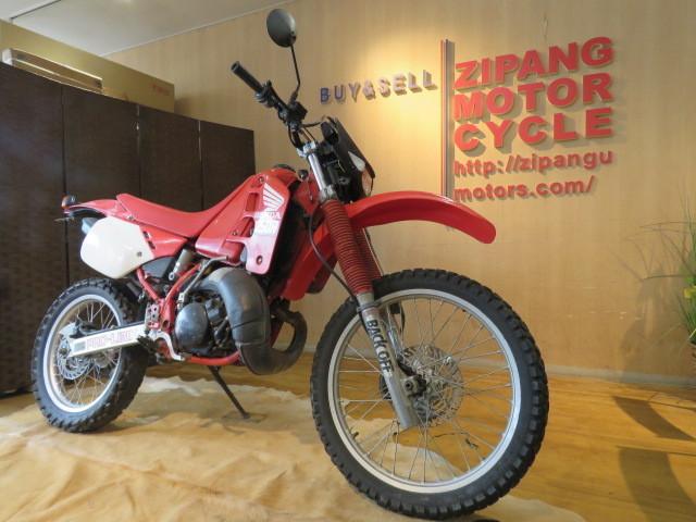 □HONDA ホンダ CRM250R 赤 21611km 250cc モトクロス 2スト 実動 初期型 バイク 札幌発_画像3