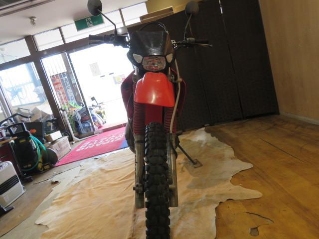 □HONDA ホンダ CRM250R 赤 21611km 250cc モトクロス 2スト 実動 初期型 バイク 札幌発_画像4