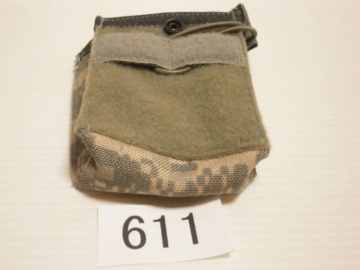 ☆611 米軍放出品 未使用 DBT製 ACU プレートキャリアポケット用 M4/M16マガジンポーチ(片面ベルクロテープ)_画像5