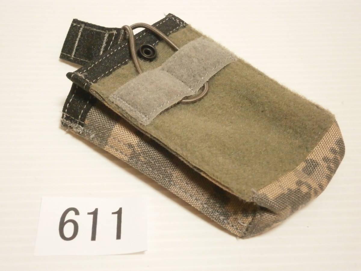 ☆611 米軍放出品 未使用 DBT製 ACU プレートキャリアポケット用 M4/M16マガジンポーチ(片面ベルクロテープ)_画像2