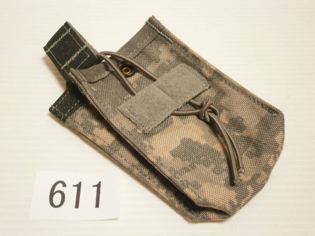 ☆611 米軍放出品 未使用 DBT製 ACU プレートキャリアポケット用 M4/M16マガジンポーチ(片面ベルクロテープ)_画像1