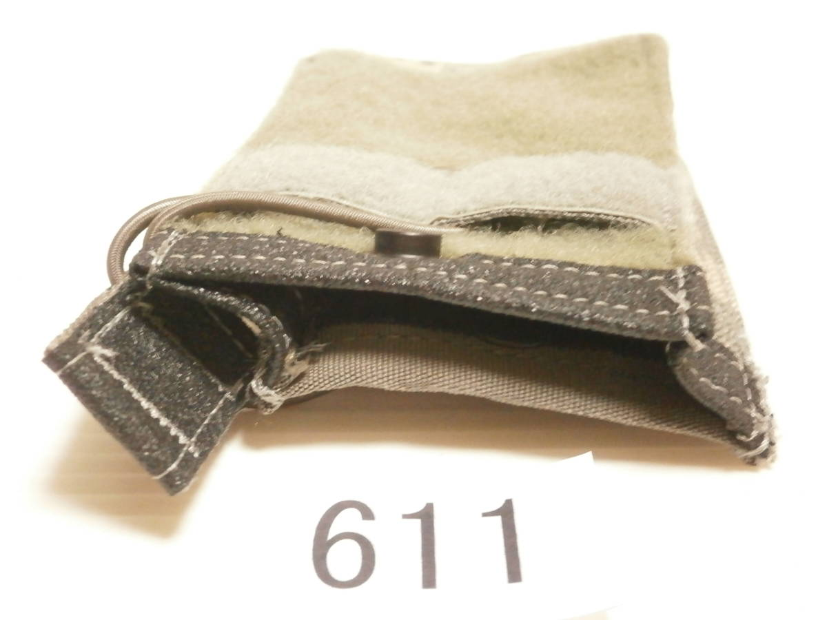 ☆611 米軍放出品 未使用 DBT製 ACU プレートキャリアポケット用 M4/M16マガジンポーチ(片面ベルクロテープ)_画像4