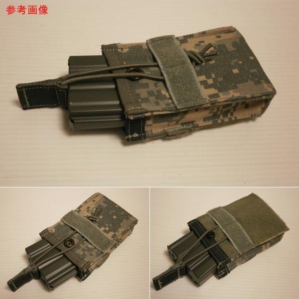 ☆611 米軍放出品 未使用 DBT製 ACU プレートキャリアポケット用 M4/M16マガジンポーチ(片面ベルクロテープ)_画像3