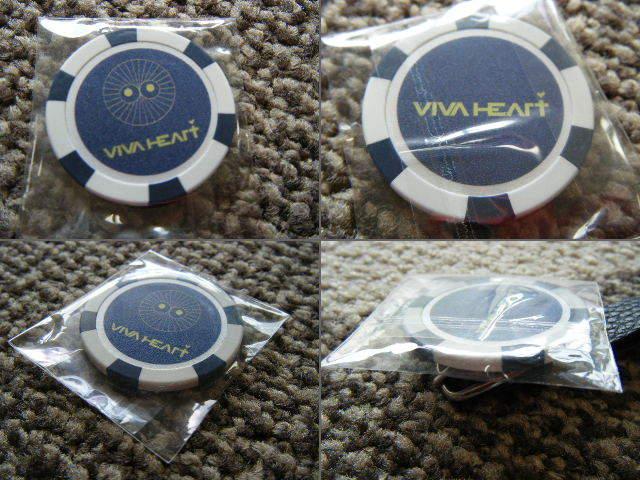 ビバハート VIVA HEART ネームプレート1つ&ボールマーカー1枚 計2点_画像4