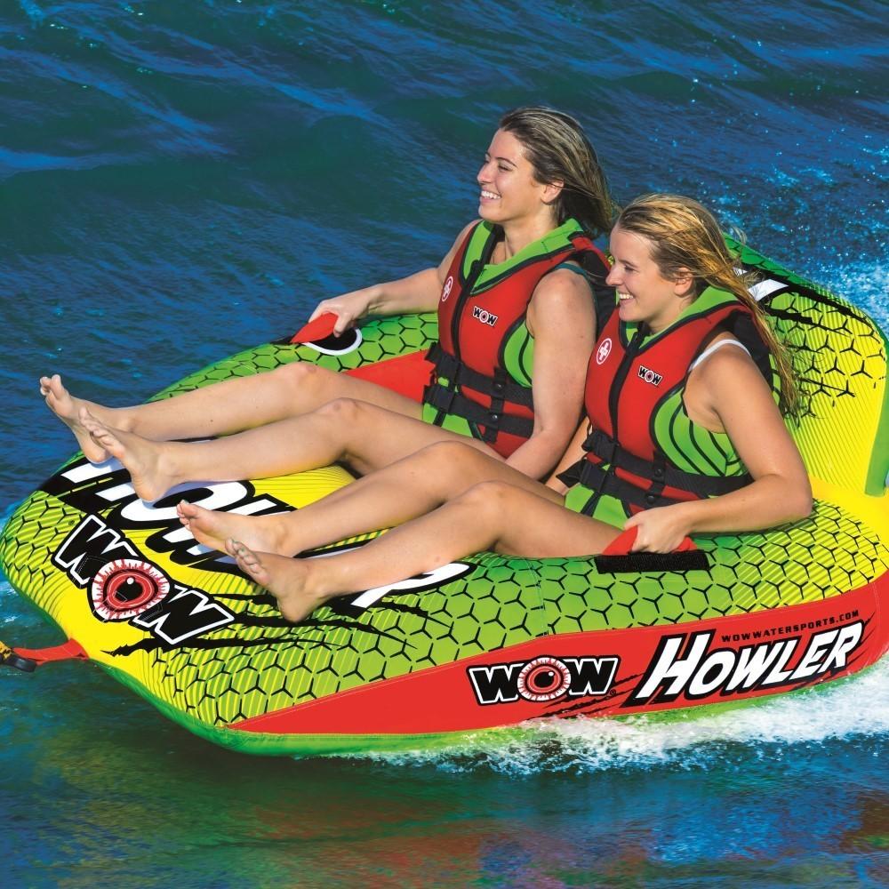 ワオ WOW ウォータートーイ トーイングチューブ 15%オフ 送料無料 ハウラー 2人乗り W20-1030 水上バイク ジェット_画像1