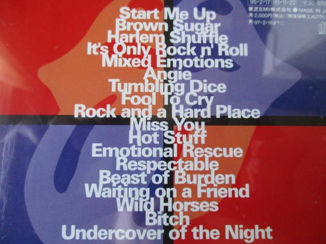 ザ・ローリング・ストーンズ /Jump Back~The Best Of The Rolling Stones 93年大傑作大名盤♪究極濃厚ベスト♪国内盤♪ロック・レジェンド_画像3