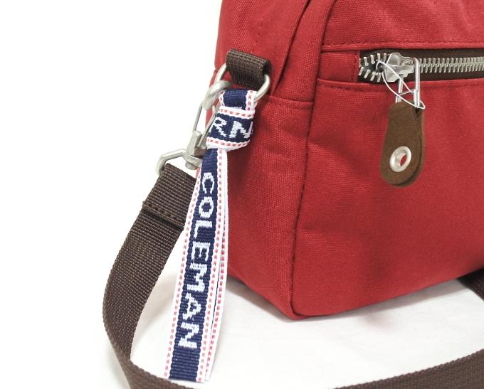 コールマン Coleman 斜め掛け バッグ ショルダー レッド 赤 かばん メンズ レディース 小さい プレゼント 新品 バッグ 鞄 母の日 父の日_画像4