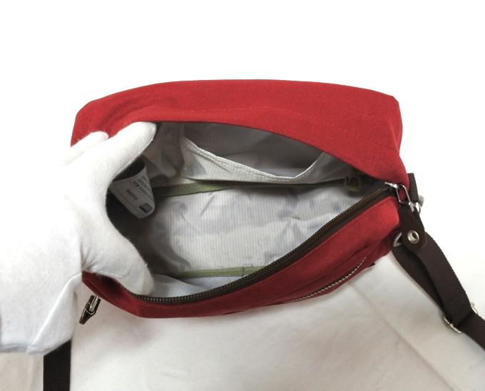 コールマン Coleman 斜め掛け バッグ ショルダー レッド 赤 かばん メンズ レディース 小さい プレゼント 新品 バッグ 鞄 母の日 父の日_画像6