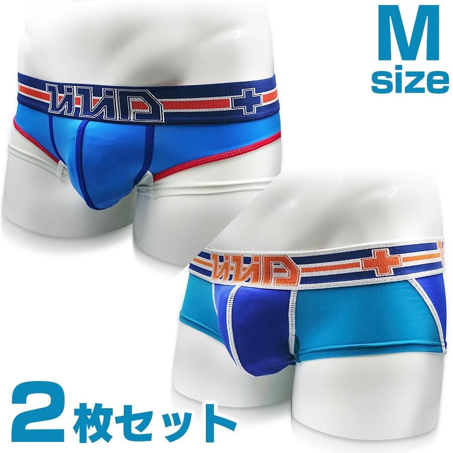 【新品/M】2枚セット ローライズボクサー パンツ 限定生産 下着 メンズ