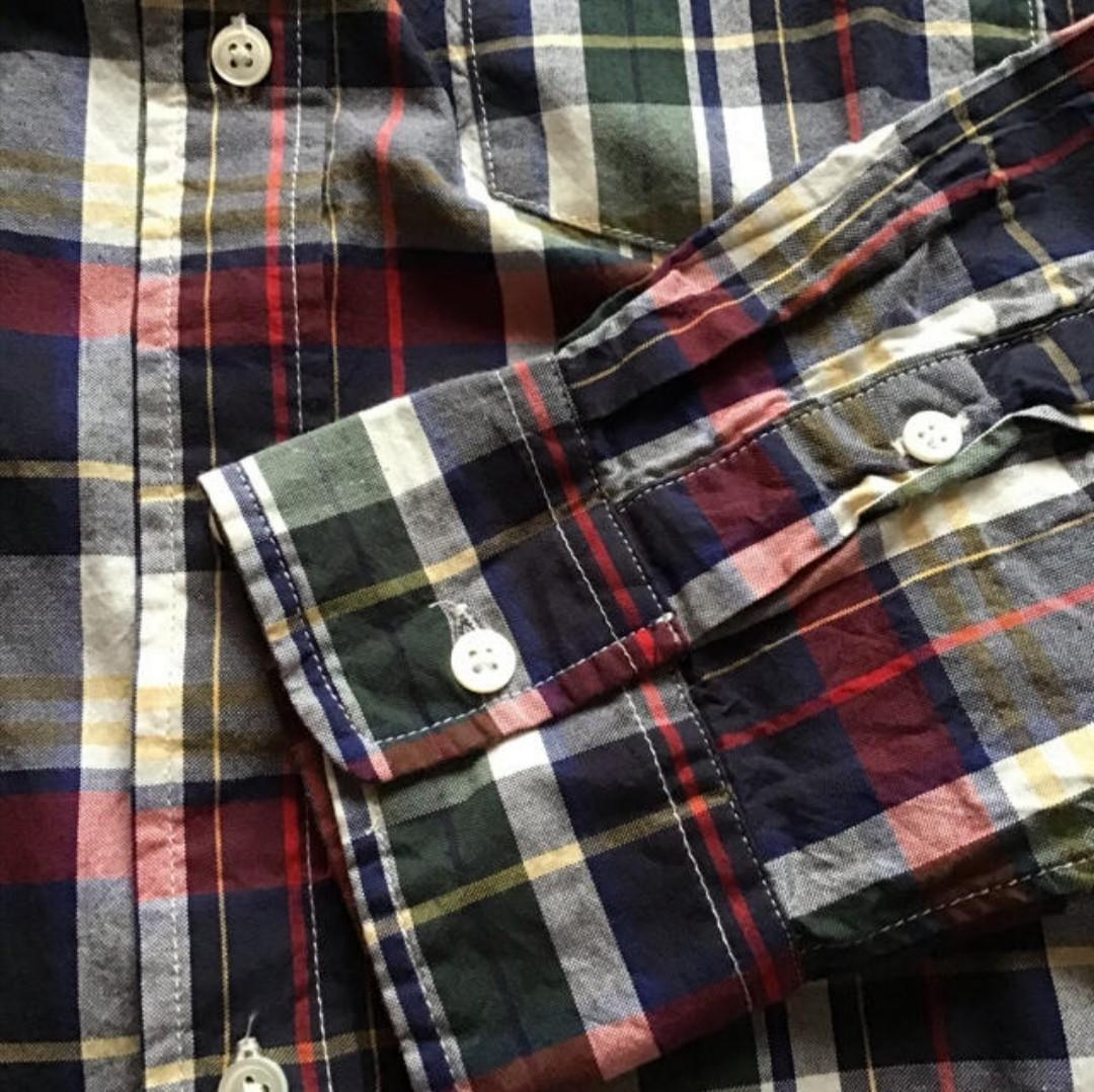 アーバンリサーチ ロッソ チェックシャツ 長袖シャツ チェック柄 長袖