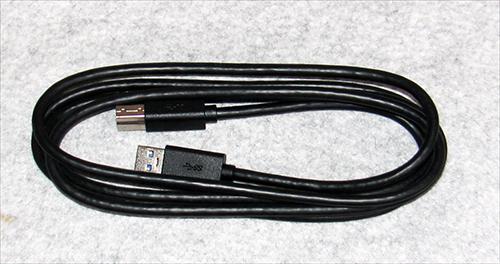 USB3.0 ケーブル タイプAオス-Bオス 1.8m 黒 未使用 送料無料