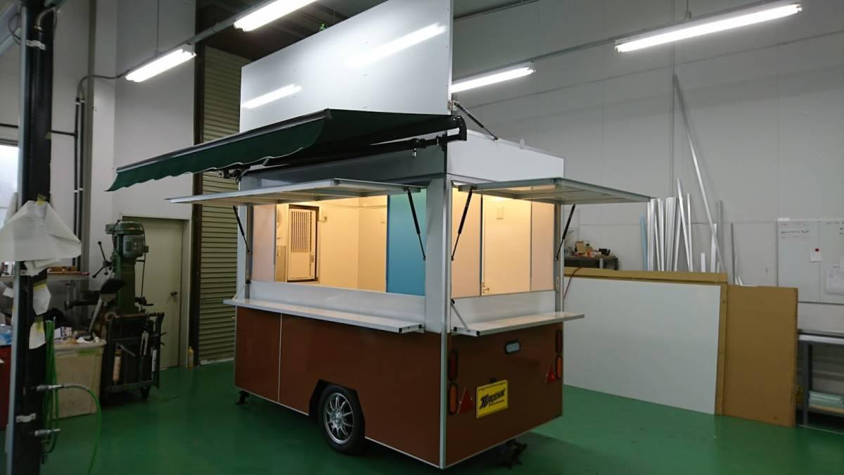 oけん引免許不要oキッチンカートレーラーo移動販売車oケータリングo開業o_画像4