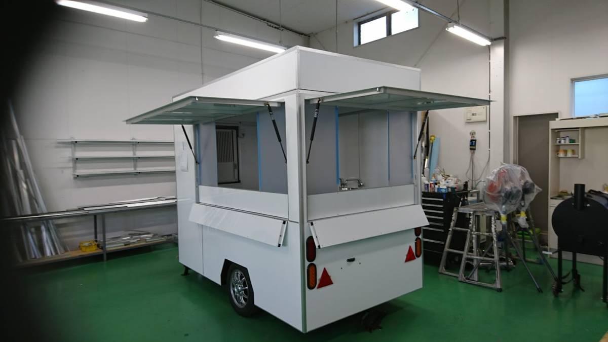 oけん引免許不要oキッチンカートレーラーo移動販売車oケータリングo開業o_画像5