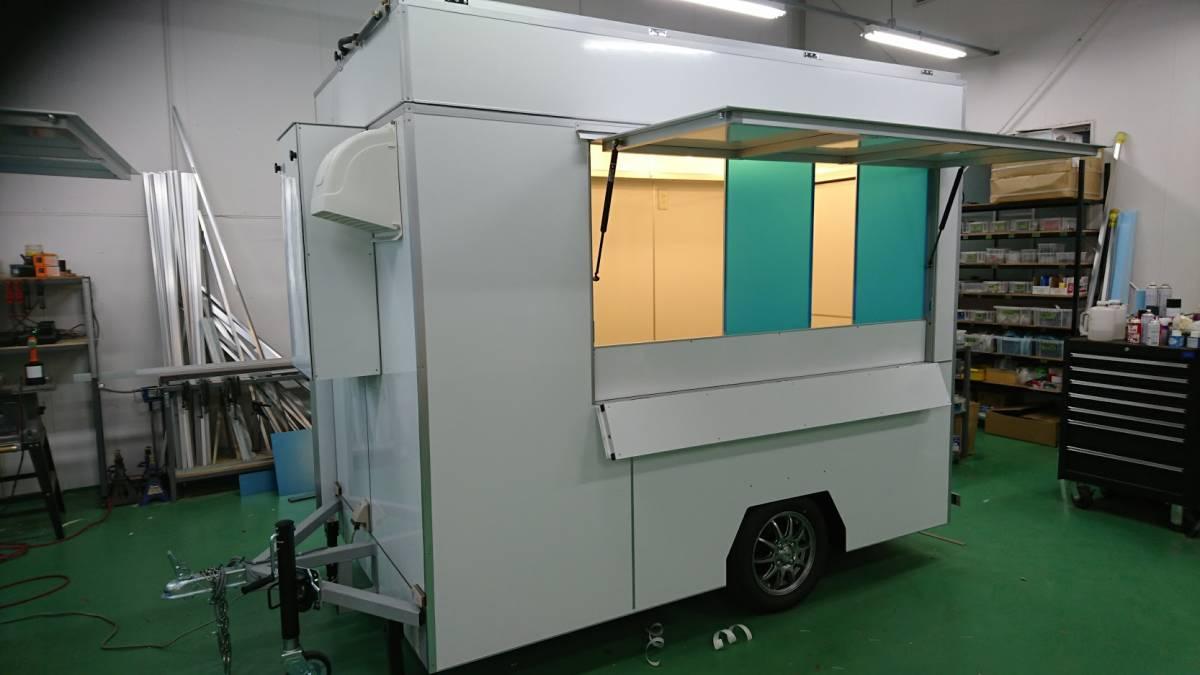 oけん引免許不要oキッチンカートレーラーo移動販売車oケータリングo開業o_画像6